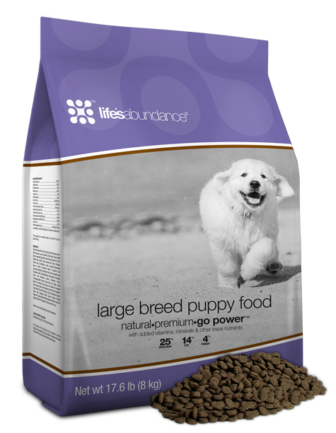 Life's Abundance Premium Health Food for Large Breed Puppies