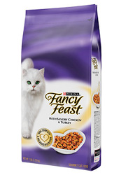 Fancy Feast Gourmet Gold Savory Chicken & Turkey Formula for Cats - dry cat food containing corn gluten meal