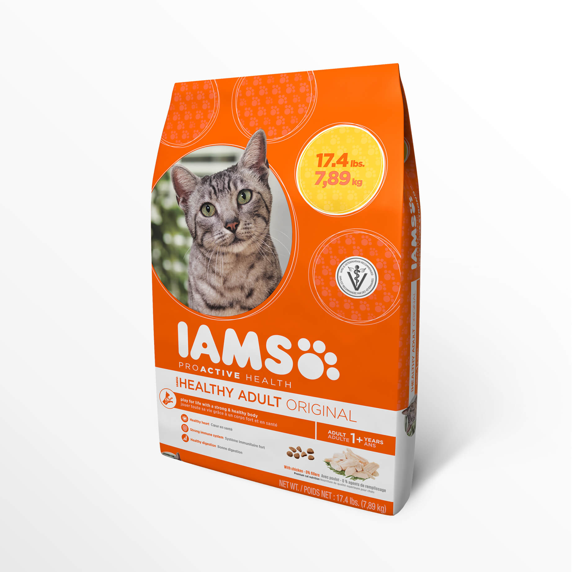 Purina Beyond Cat Food >> Compare Life's Abundance Premium Cat Food to Iams ProActive Health Original