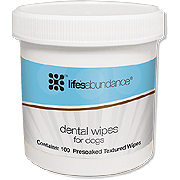 Life's Abundance Dental Wipes for Dogs