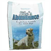 Life's Abundance Weight Loss Dog Food
