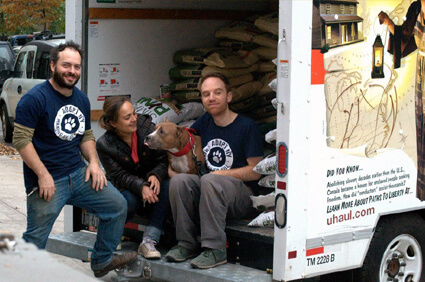 Adopt New York Delivering Goods