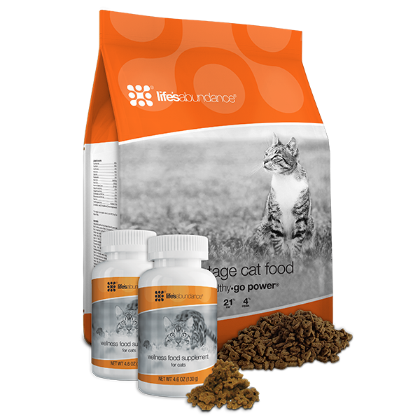 Life's Abundance All Life Stage Cat Food System