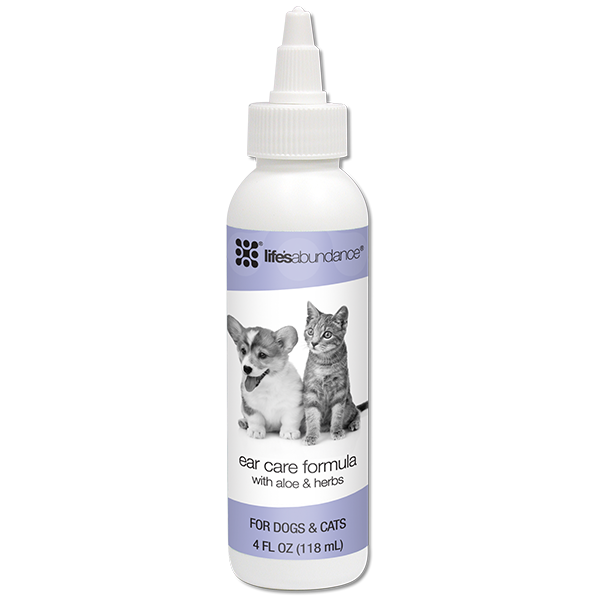 Life's Abundance Ear Care Formula for Dogs and Cats