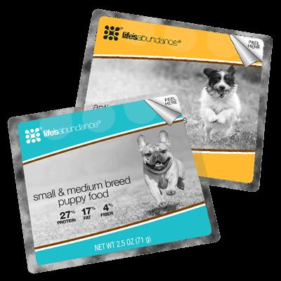 Small/Medium Breed Puppy Sample