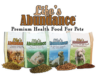 4 Bags Life's Abundance Dry Food