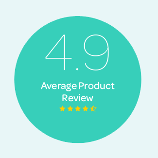 4.9 Average Product Review