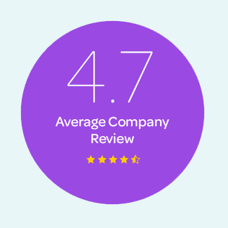 4.7 Average Company Review