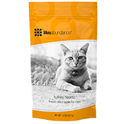Life's Abundance Turkey Hearts Freeze-Dried Cat Treats