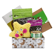 Life's Abundance Holiday Dog Gift Basket