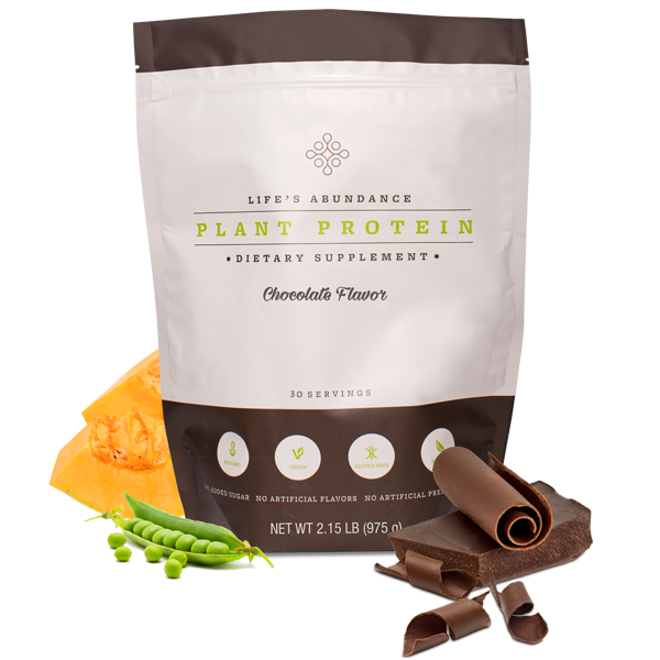 Life's Abundance Chocolate Protein Powder