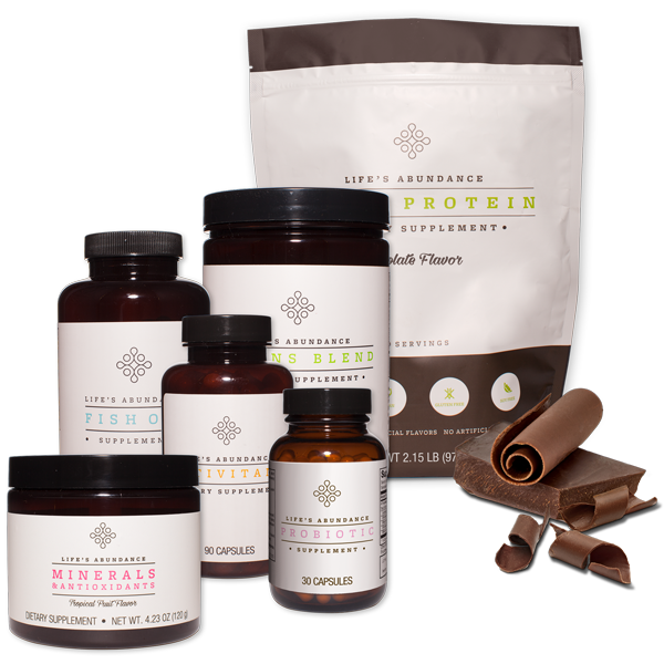 Life's Abundance Chocolate Protein Bundle