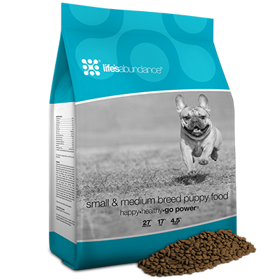 Life's Abundance Small/Medium Breed Puppy Food
